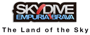 Logo Skydive Empuriabrava The Land of the Sky