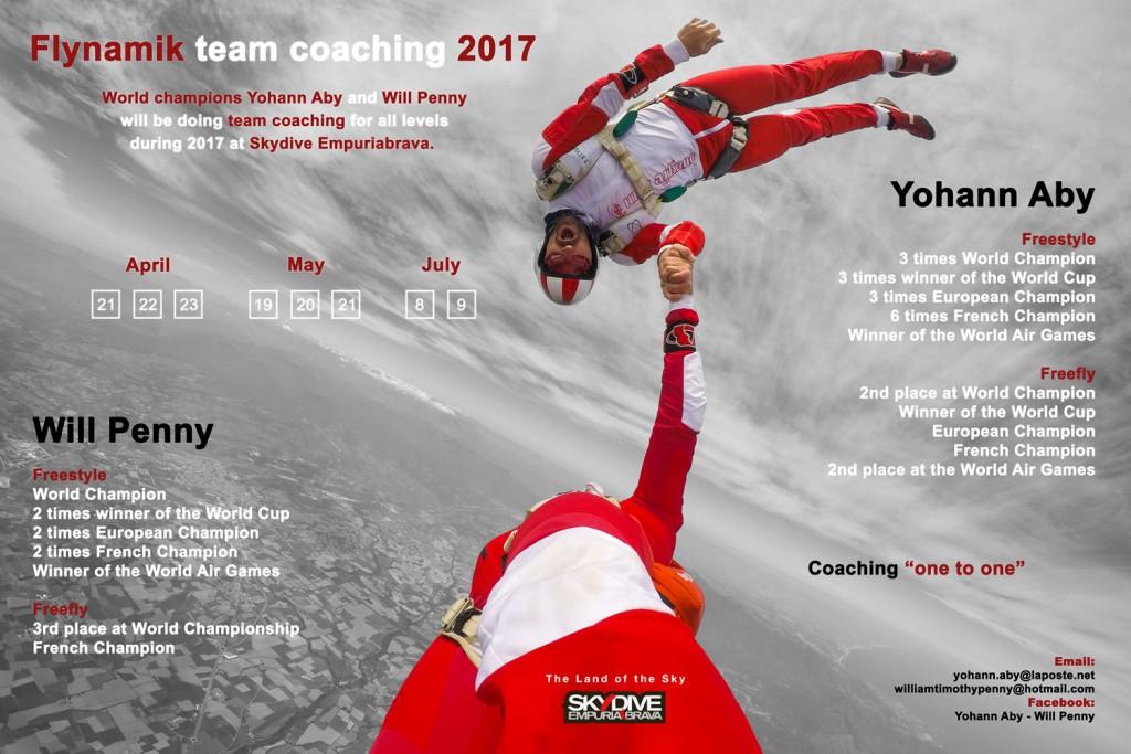 Advert of Flynamik team coaching